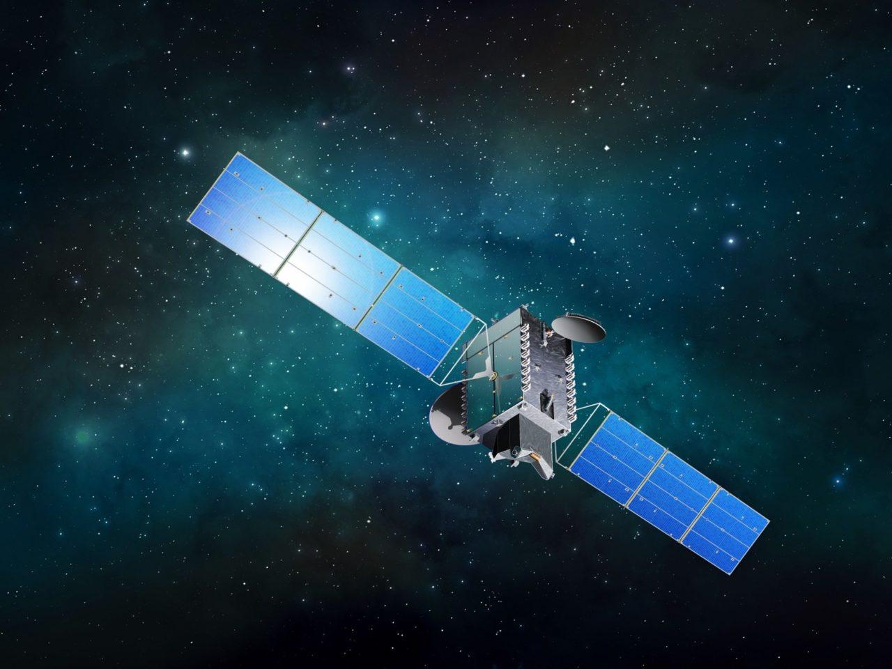 Rendition of the BSAT 4b satellite. Photo: SSL.
