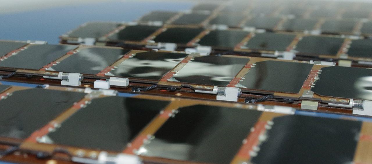 Spire's double deployable solar panels. Photo: Spire Global.