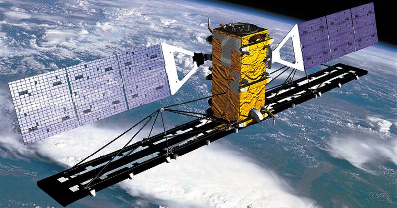 Illustration of the Radarsat 2 satellite. Photo: MDA.