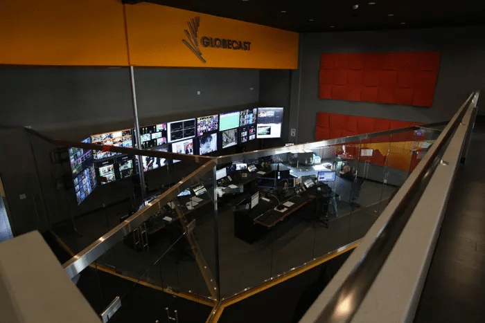 Globecast's Network Operations Center (NOC). Photo: Globecast.