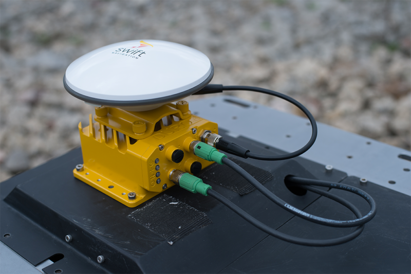 Swift Navigation's Duro Piksi Multi receiver. Photo: Swift Navigation.