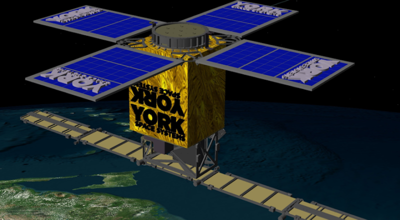 Rendition of York Space System's S-Class Platform. Photo: York Space.