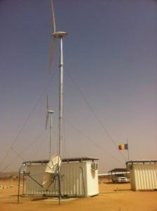 Marlink's Premium VSAT service to enable remote monitoring of the renewable energies facility in Amdjarass, Republic of Chad.