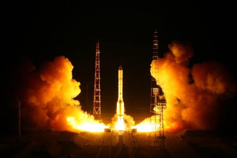 Proton Launch April 2018
