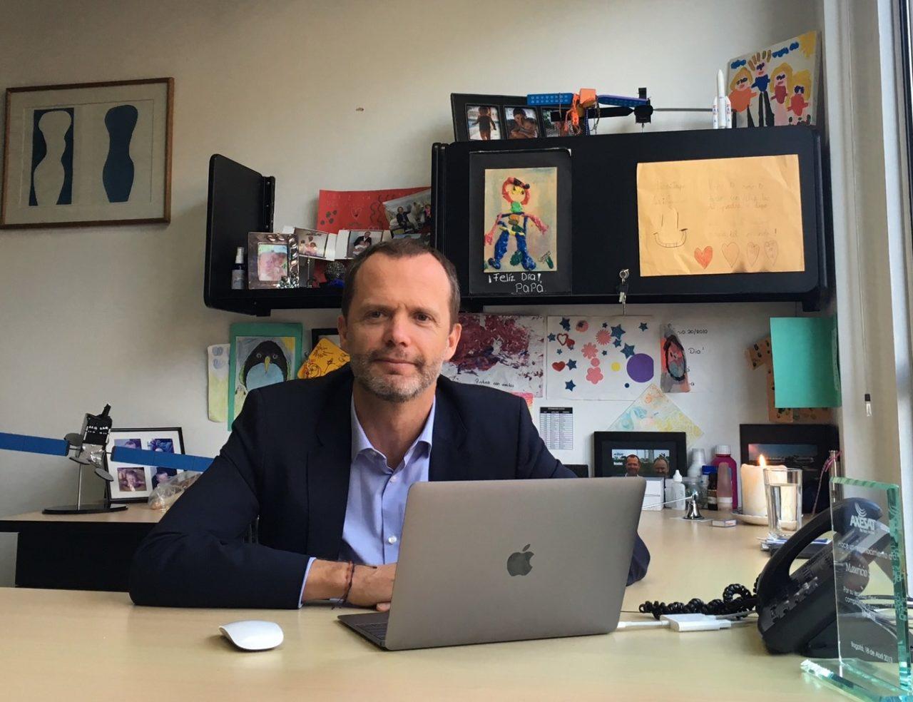 Mauricio Segovia is the CEO of Axesat.