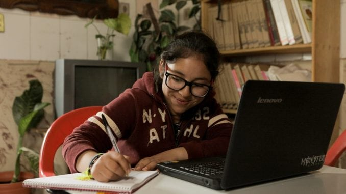 For students in rural Mexico, having internet access is essential for class- and homework. Photo: ViaSat