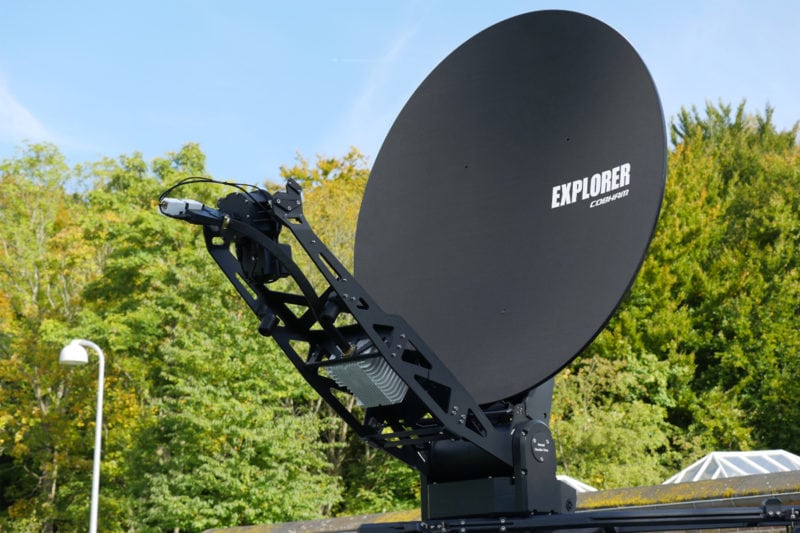 Cobham Satcom Explorer 8120 VSAT antenna