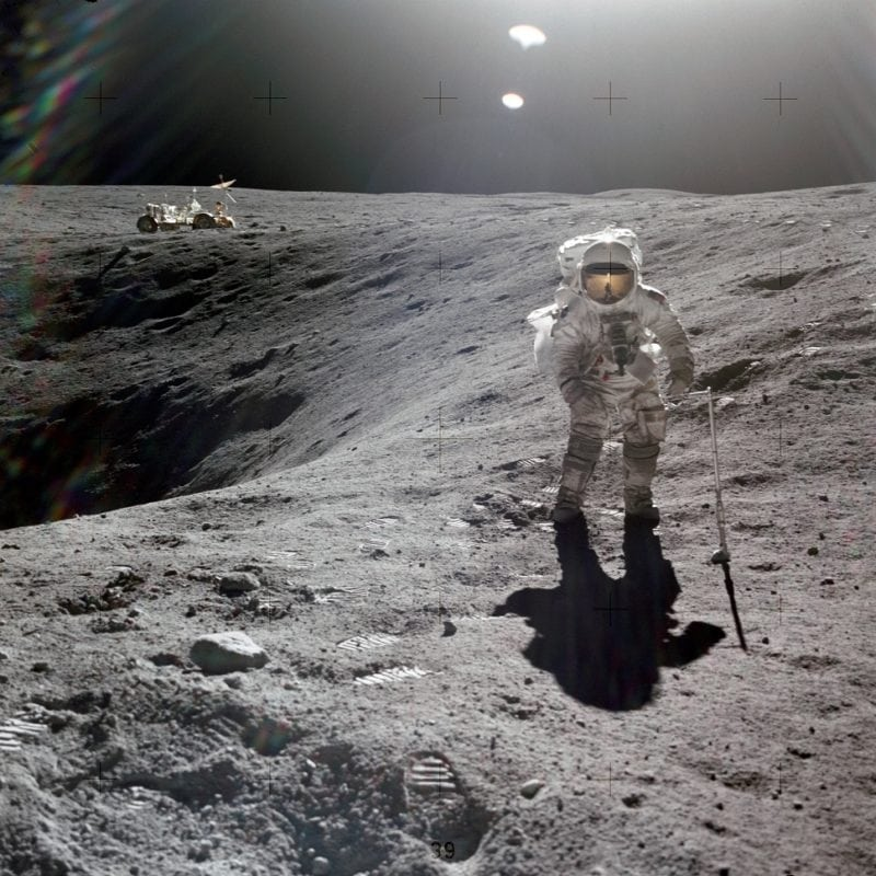 For All Moonkind partners with Todaq Financial to map and preserve human heritage sites on the Moon. Photo Credit: For All Moonkind