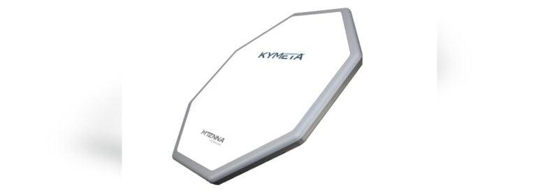 Kymeta's flat-panel antenna with Mtenna technology