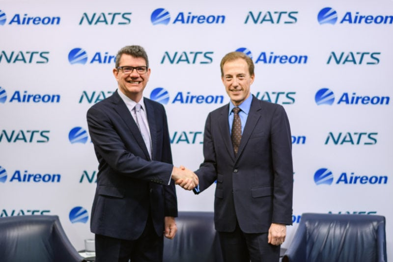 NATS CEO Martin Rolfe and Don Thoma, Chief Executive Officer of Aireon