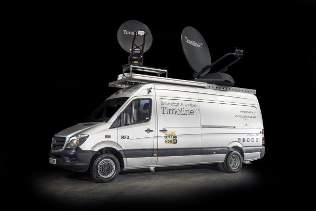 Timeline TV's new 4K-uplink RF2 broadcast truck