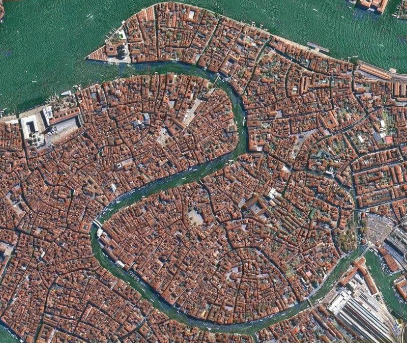 Venice, Italy captured by ImageSat International