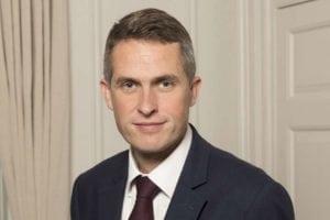 U.K. Defense Secretary Gavin Williamson.