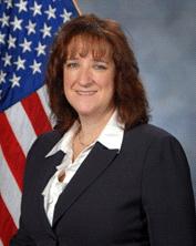 U.S. Air Force SMC Chief of International MilSatCom Deanna Ryals.