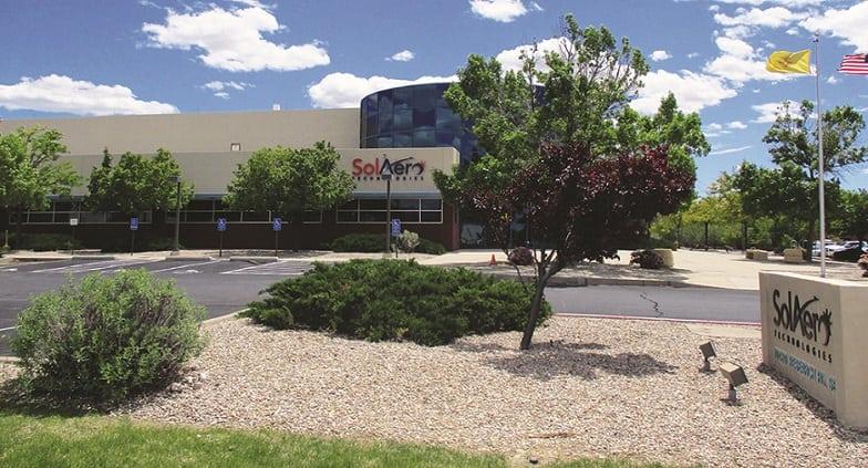 SolAero's facility in Los Alamitos, California