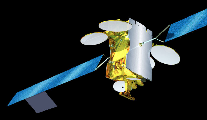 SES' Astra 3B satellite. Photo: SES