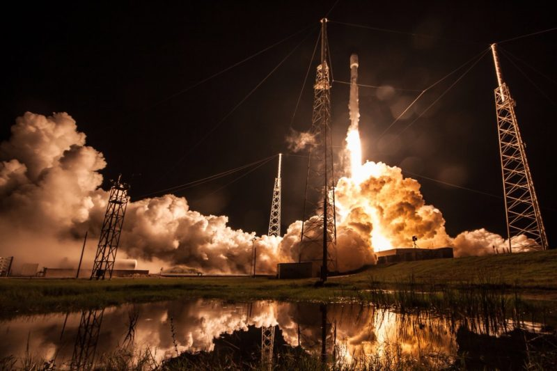 SpaceX Falcon Rocket launch. Photo: SpaceX