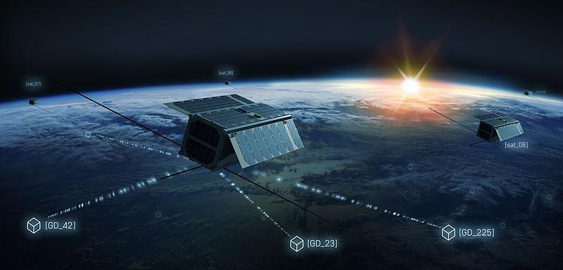 Astrocast satellite network. Photo: Astrocast