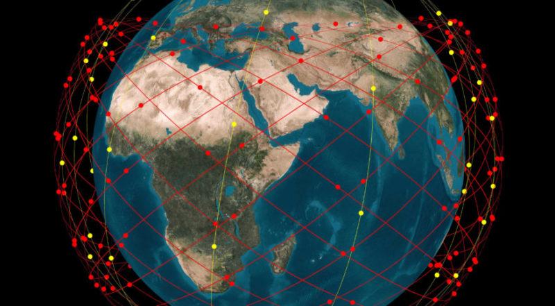 Telesat's LEO constellation orbit. Photo: Telesat