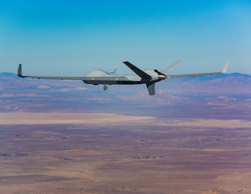 General Atomics' Skyguardian MQ-9B RPA plane. Photo: General Atomics.