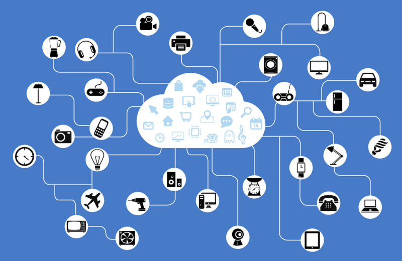 IOT visualization. Image: Pixabay