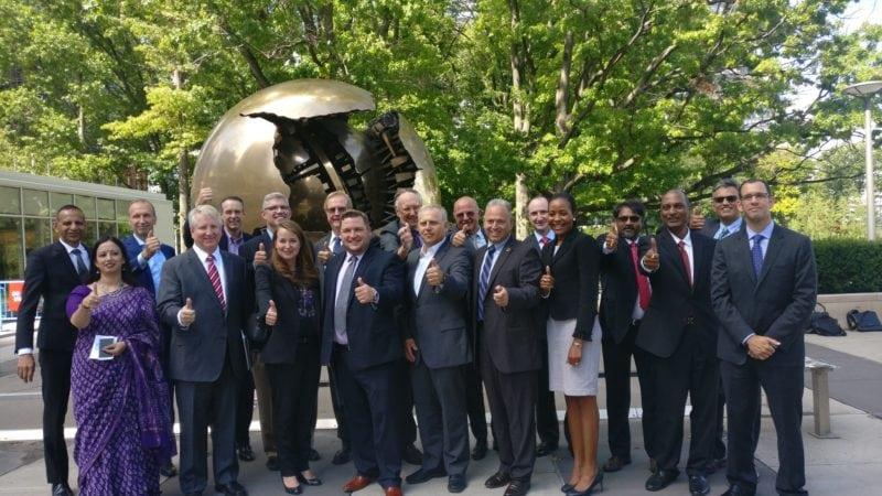 Members of the World Geospatial Industry Council (WGIC). Photo: WGIC