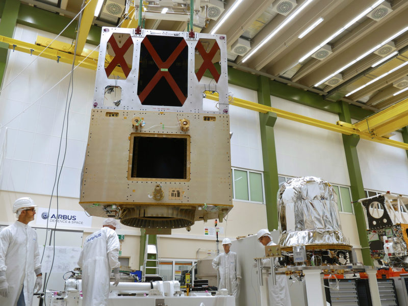 Sentinel-6, built by Airbus. Photo: Airbus
