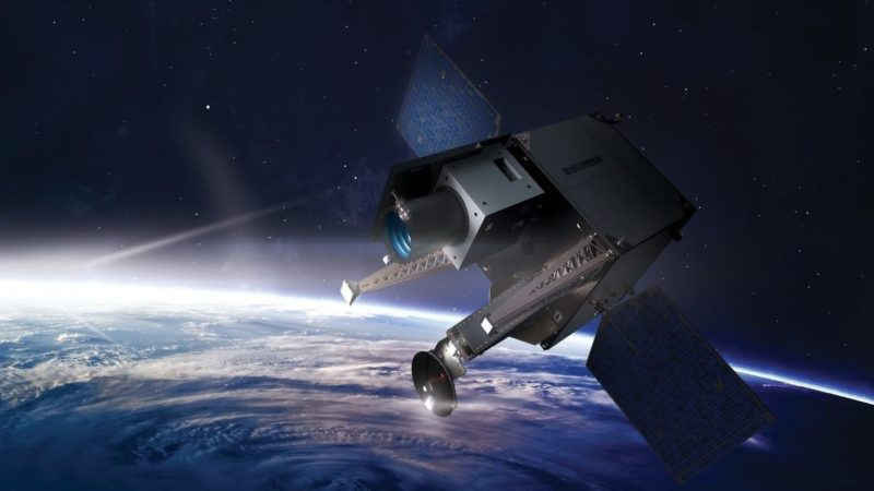 A rendering of an Aquila satellite, built by Millennium Space Systems. Photo: Millennium Space Systems