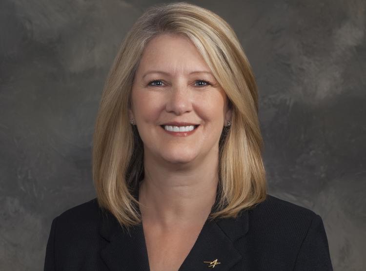 Incoming Lockheed Martin Aeronautics Business Executive Vice President Michele Evans. Photo: Lockheed Martin