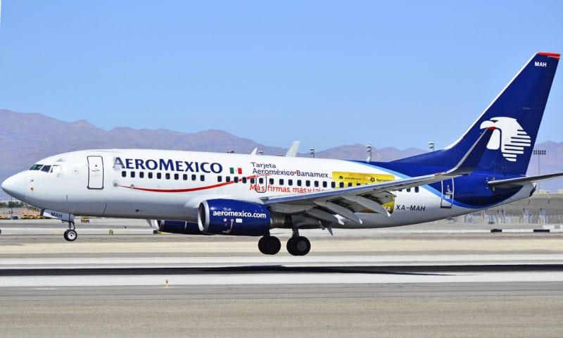 An Aeromexico Boeing 737 plane. Photo: Tomás Del Coro (Flickr)