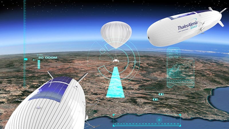 Hispasat, Thales Demonstrate 4G / 5G Balloon