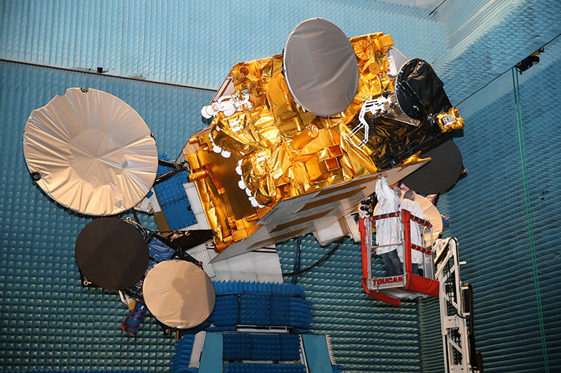 The SES-14 satellite. Photo: Airbus