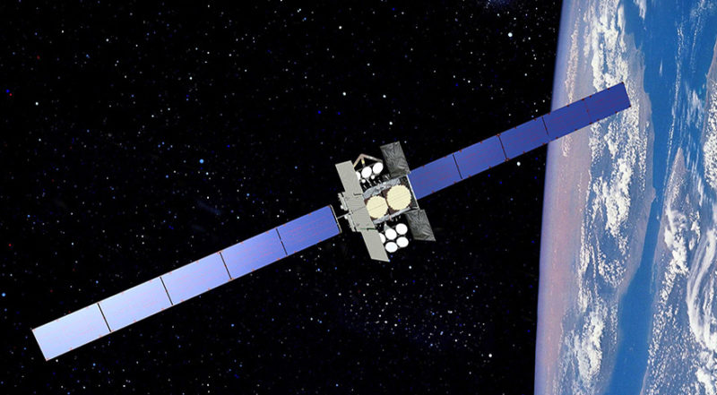 U.S. Air Force Wideband Global Satcom communications satellite. Photo: Boeing