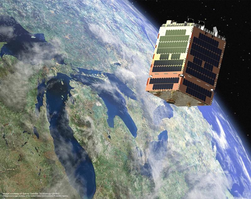 Telesat Phase 1 LEO satellite. Photo: Surrey Satellite Technology