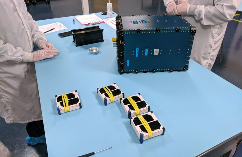 Swarm's SpaceBee satellitesSource: Swarm Technologies