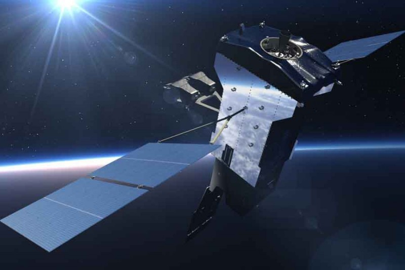 The space-based infrared system GEO-5 satellite. Photo: Lockheed Martin