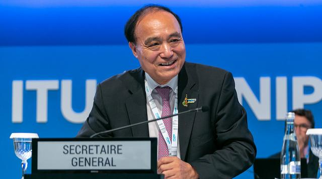 Houlin Zhao. Photo: ITU