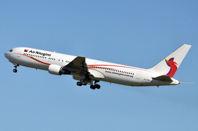Air Niugini Boeing 767-300ER. Photo: Wikipedia