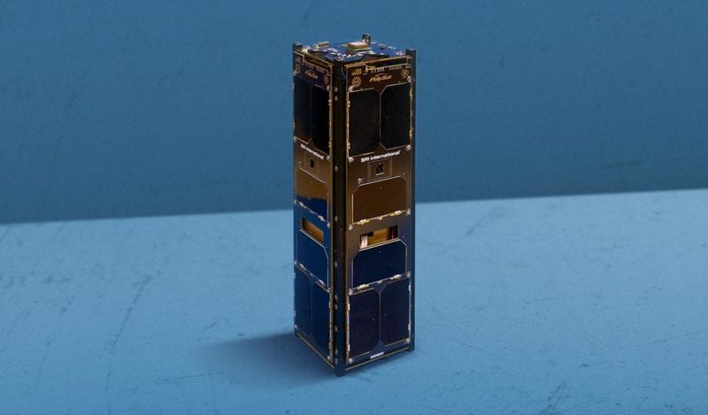 An SRI International cubesat that was launched on Dec. 15. Photo: SRI