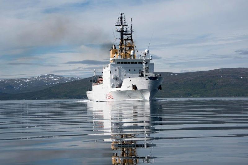 NATO Research Vessel. Photo: Globalstar