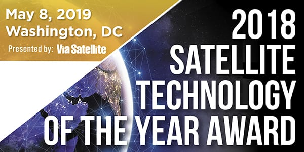 Satellite Technology of the Year 2018 Nominations