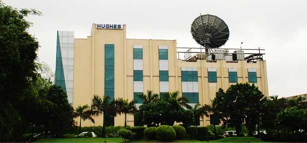 Hughes Communications India's headquarters. Photo: Hughes