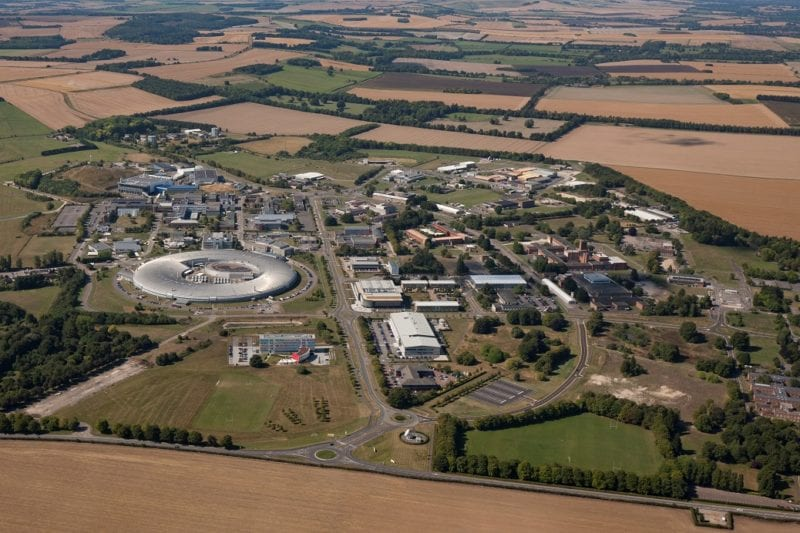 Aerial view of Harwell Campus. Photo: NanoAvionics