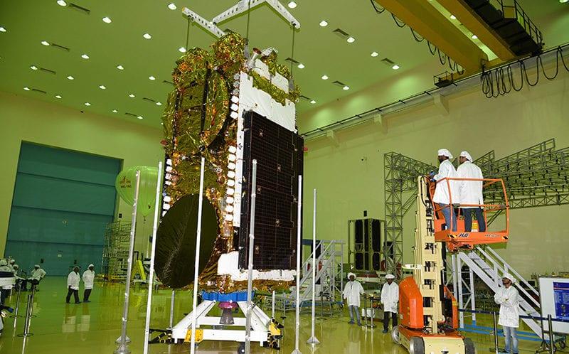 ISRO's GSAT-11 satellite. Photo: ISRO