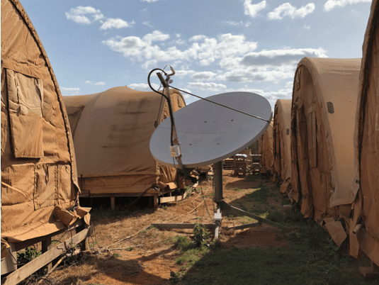 Fixed Site Military VSAT. Photo: N1C4