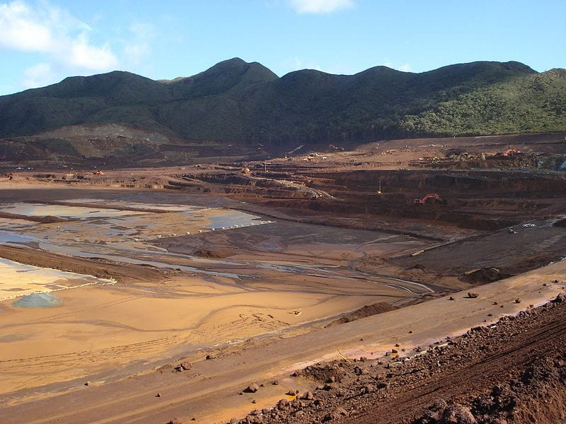 Construction of a tailings storage area at Goro Nickel Mine, Kwe West Bassin, New Caledonia. Credit: Barsamuphe/Mining Technology