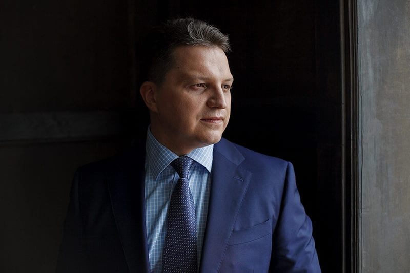 Orion Express CEO Kiril Makhnovskiy. Photo: Orion Express