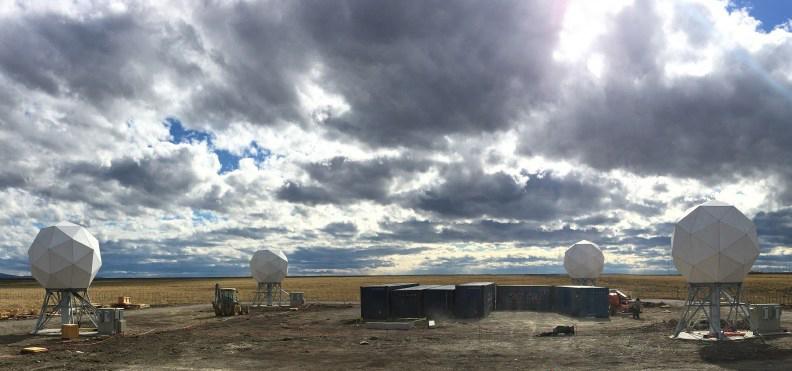 Iridium's new ground station in Punta Arenas, Chile. Photo: Iridium