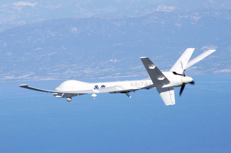 Sample UAV. Photo: Wikimedia Commons/Orbit Communications, Inmarsat Government