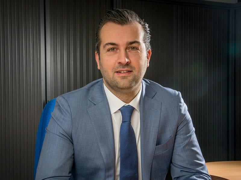 Newtec CEO Thomas Van den Driessche. Photo: Newtec